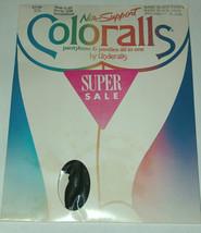 VTG NOS Underalls SZ C-D Non-Support Coloralls Pantyhose & Panties 325 B... - $8.26