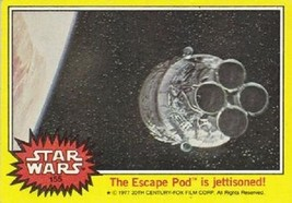 1977 Topps Star Wars Series 3 Yellow #155 The Escape Pod Is Jettisoned! ... - €1,52 EUR