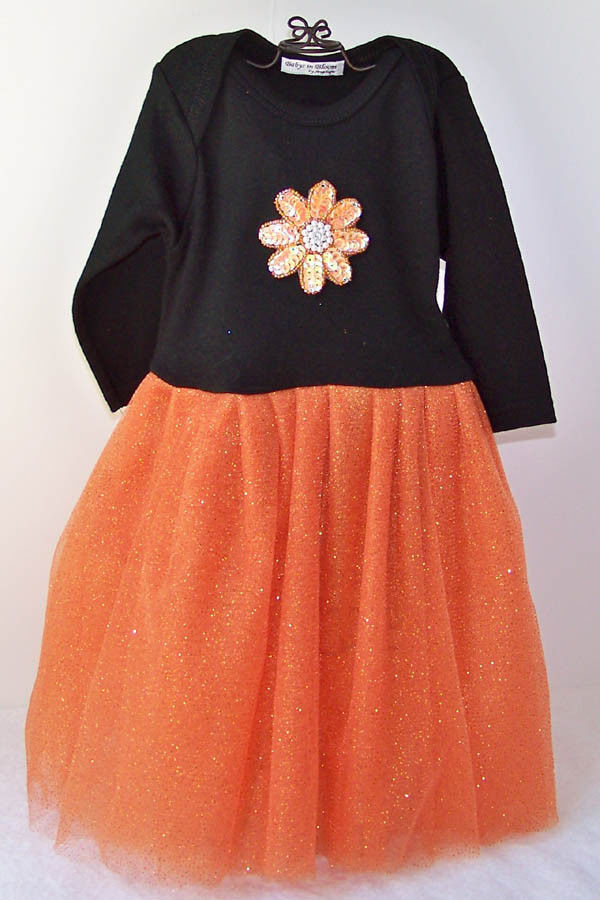 d8457a882 Halloween Toddler Girls Orange Black Size 1T and similar items