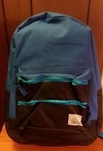 Blue and Black Boys Canvas School Backpack  - $3.00