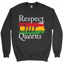 Respect Our Queens Sweatshirt Black Girl Magic African American Women Cr... - $19.11+