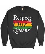 Respect Our Queens Sweatshirt Black Girl Magic African American Women Cr... - $19.11+