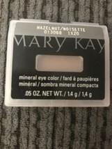Mary Kay Hazelnut Mineral Eye Color New Brown Eye Shadow .05 oz - $6.95