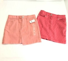 Gap Nautica Girls Skirt NWT Size 8 Medium Coral Pink Lot of 2 - $19.15