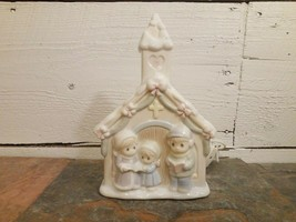 Precious Moments Enesco Sugar Town Church Night Light #32298 1993 - $12.86
