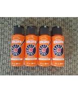 NEW Lot Orange Anita's All Purpose Acrylic Paint - 2 oz. ea. (8 oz. tota... - $17.63