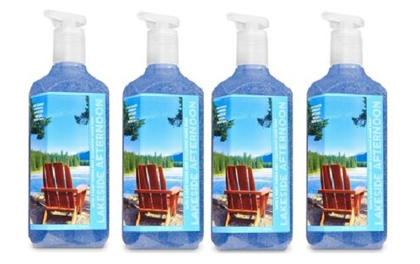 Bath & Body Works Lakeside Afternoon Deep Cleansing Hand Soap w Sea Minerals x4