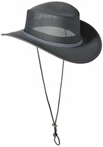 Stetson Men's Mesh Covered Hat XX-Large Charcoal - $79.99