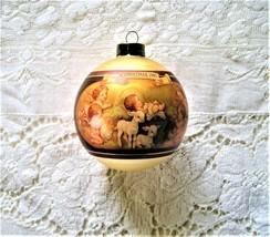Hallmark Let Us Adore Him Ornament Christmas Keepsake with Box Vintage 1981 - $8.50