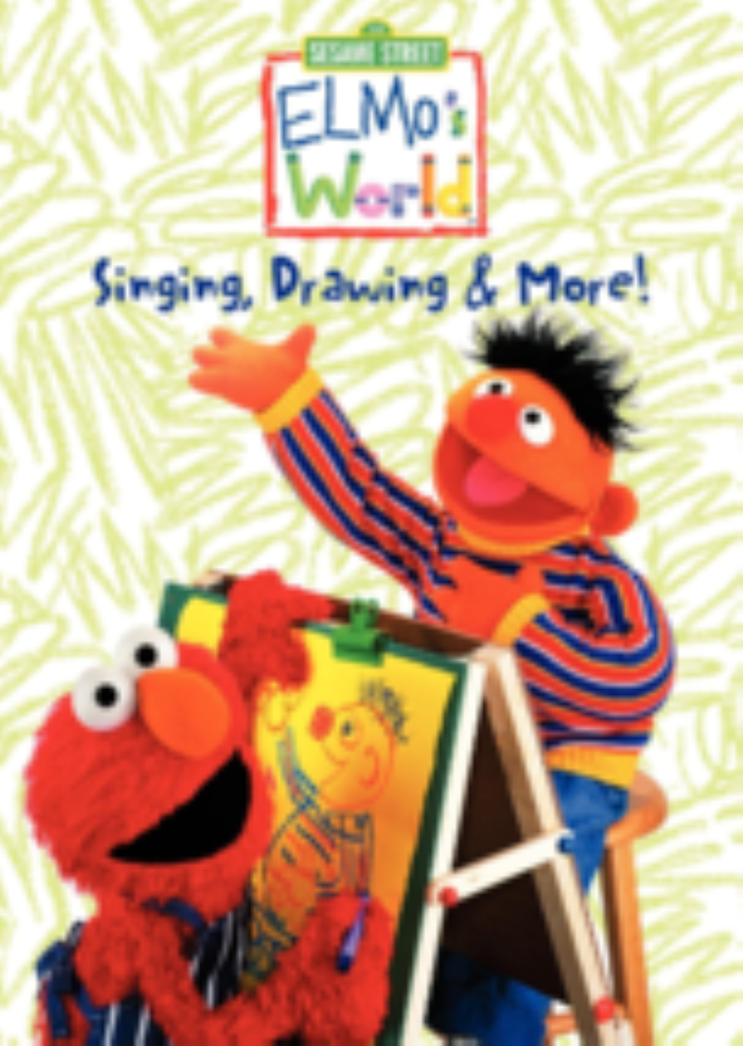 Elmo's World - Singing, Drawing & More Vhs