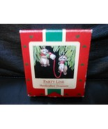 "Hallmark Keepsake ""Party Line Raccoons"" 1988 Ornament NEW - $10.15"