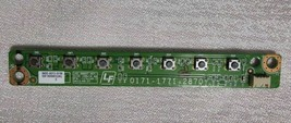 SHARP LC-55LE653U Button Board 3655-0072-0156 - $11.98