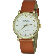 Marc Jacobs Women's MBM1316 Baker Brown Leather Watch - $104.76