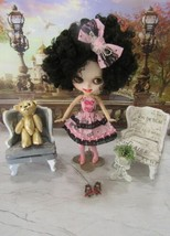 Customized Matte Face Blythe Bjd Doll W/CARVED Lips -TEETH-OUTFIT & More New!! - $137.61