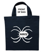 Spider Trick or Treat Bag, Personalized Spider Halloween Bag, Spider Loo... - $11.39+