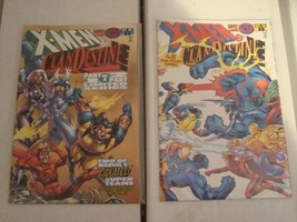 X-Men and Clandestine Original Marvel Comic Book Minis Series 1 and 2 From 1996 - $2.72