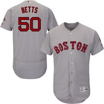 Men's Boston Red Sox Mookie Betts Road Gray Flex Base Player Breathable ... - $1.411,70 MXN