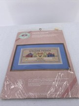 From the Heart Needlepoint Kit Country Welcome  Friends 1986 # 53504 - $14.01