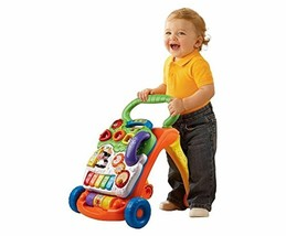 VTech Sit-to-Stand Walking Learn Toy Learning Walker Walk Educational Co... - $47.16