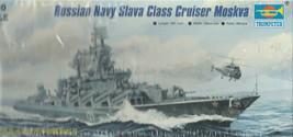 Trumpeter Russian Navy Slava Class Cruiser Moskva1/700 scale - $24.23