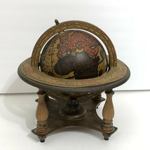 San Francisco Music Box Company Old World Globe Mapsa Made in Italy RARE - $69.95