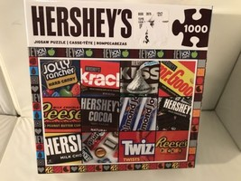 EUC Hershey's 1000 Piece Jigsaw Puzzle Having Fun One Piece at a Time - $9.49