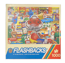 Master Pieces Flashbacks - Let the Good Times Roll 1000 Pc Puzzle + Poster - $10.29