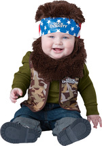 Duck Dynasty Baby Willie , Toddler Halloween Costume , 12 to 18 M, Free Shipping - $25.00