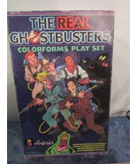 Vtg 1986 The Real Ghostbusters Colorforms 695 Cartoon Play Set  - $14.86