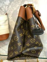 "LOUIS VUITTON ""Olympe MM"" Monogram Canvas & Leather Shoulder Bag w/Buckle $3400 image 4"