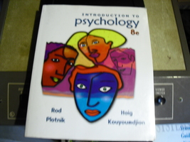 introduction  to  psychology  8e - $6.99