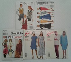 Simplicity Butterick Sewing Patterns Bundle 5 Sizes 6-14 - $12.86