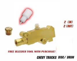 Chevy Truck Proportioning Valve Disc/Drum