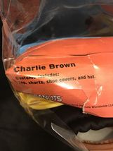 Charlie Brown Peanuts Costume Deluxe Good Grief Adult Cosplay Theater Play Mens image 6