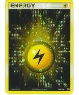 Pokemon Emerald Lightning Energy Holo Foil 2005 ENERGY 004/106 Card USED - $9.79