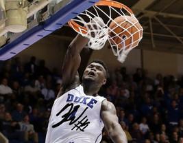 Zion Williamson Signed Photo 8X10 Rp Autographed Duke Blue Devils !! - $19.99