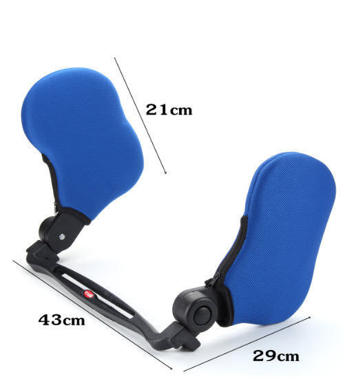 Safe Adjustable Car Neck Pillow For Travel Headrest Solution High Elastic Gift
