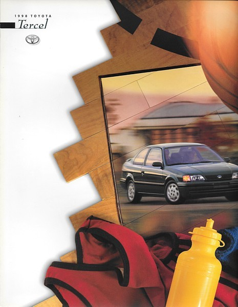 1998 Toyota TERCEL sales brochure catalog US 98 CE