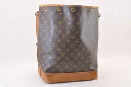 LOUIS VUITTON Monogram Noe Shoulder Bag M42224 LV Auth 8020 - $190.00