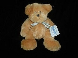 Ganz Teddy Bear Pinstripe  H6288 11 Inch All Tags New - $57.83