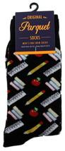 School Teacher Mens Novelty Crew Socks Casual Cotton Blend Fun Black Soc... - $12.95