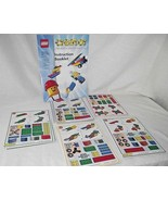Lego Creator Replacement Model Cards Complete 1999 Race to Build it Inst... - $16.82