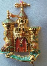 "KIRKS FOLLY Castle with Drawbridge that Opens - 3 1/4"" - Dragonfly Turtl... - $75.00"
