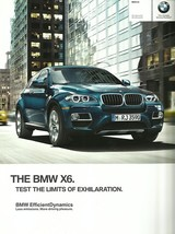 2012 BMW X6 sales brochure catalog US 12 xDrive 35i 50i - $10.00