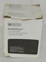 Delta Multichoice Universal Tub Shower Rough Inlet Outlet R10000UNBX image 4