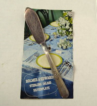 Holmes Edwards Youth Pattern Knife Silver Plate Inlaid Spreader - $8.95