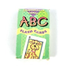 Vintage ABC Flash Cards Creative Child Games Cute Illustrated Cards Educ... - $14.59
