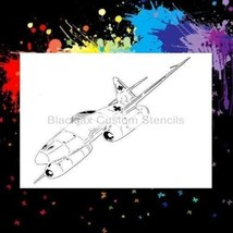 WWII ME-262 Jet Fighter Plane Airbrush Stencil,Template - $10.39