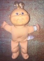 2004 cabbage patch kids Play Along Baby newborn doll girl Violet Eyes nu... - $9.99