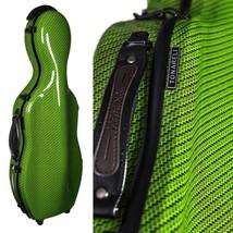 Tonareli Cello-shaped Fiberglass Viola Case w/Wheels - Special Edition G... - $349.00